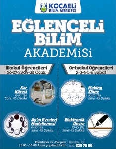 BİLİM MERKEZİ - EĞLENCELİ BİLİM - 02