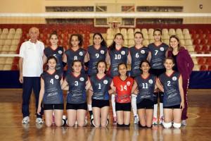 Yıldız Kızlar Voleybol Takımı  2015-2016