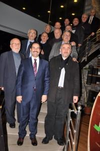 Yaman eski başkanlarla bir araya geldi1