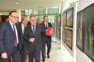 KSO Başkanı Zeytinoğlu ve Meclis üyeleri Fotoğraf sergisini gezdiler