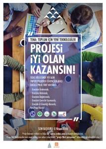 Sedas proje yarısma poster
