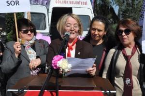 ADD Gölcük Şubesi Kadın Komisyonu Başkanı Ayşe Çelik