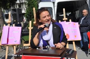 CHP İl Kadın Kolları Başkanı Sevim Korkmaz Pekyörür