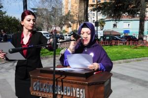 Gölcük Kent Konseyi kadın meclisi başkanı Nurten Özgören Turnalı