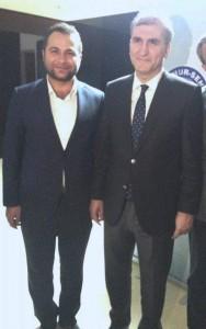 Sağlık Bakanı Müsteşarı Prof. Dr. Eyüp Gümüş ile bir araya gelen Sağlık-Sen Kocaeli Şube Başkanı Kerem Özgüler