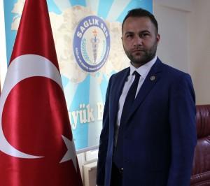 Sağlık Sen Kocaeli Şube Başkanı Kerem Özgüler teröre lanet açıklaması yaptı