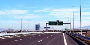 İstanbul ile İzmir arasındaki ulaşım süresini 9 saatten 3,5 saate indirecek Gebze-Orhangazi-İzmir Otoyolu Projesi içerisinde yer alan yaklaşık 40 kilometrelik Altınova-Gemlik güzergahında çalışmalar sona erdi ( AA - Nevzat Samancı )