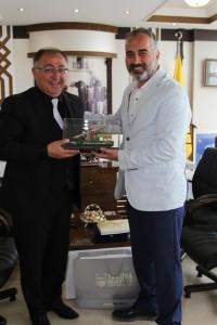 Vefa Salman'dan Baükan Yçldçrçm'a ziyaret
