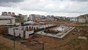 Çayırova'ya yarı olimpik yüzme havuzu yapılıyor (2)