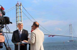 Başkan Karaosmanoğlu, TRT HABER'E konuk oldu