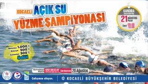 Kocaeli Açık Su Yüzme Şampiyonası