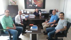 1 Ölçü Veri Grup Müdürlüğü ve Kurumsal İletişim Müdürlüğü planlama toplantısı yapti