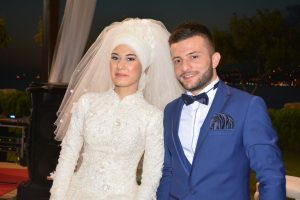 Ayşenur ve Tunahan birbirlerine çok yakıştılar.