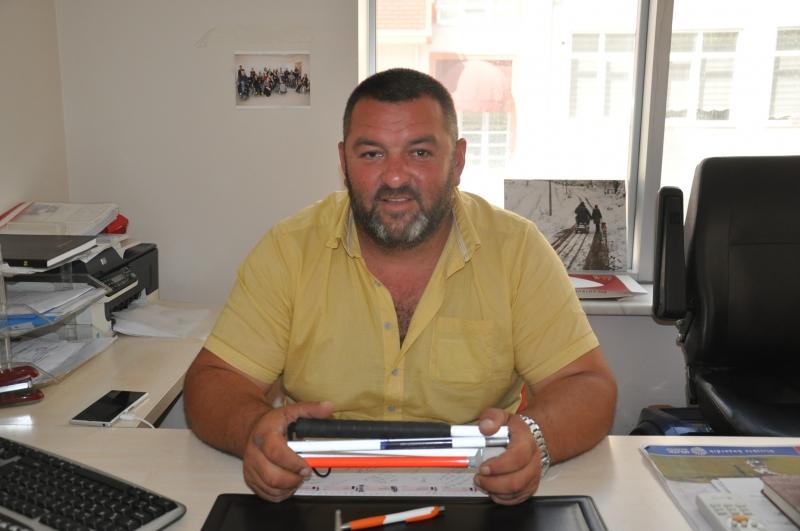 Engelliler Derneği Başkanı Hasan Bat