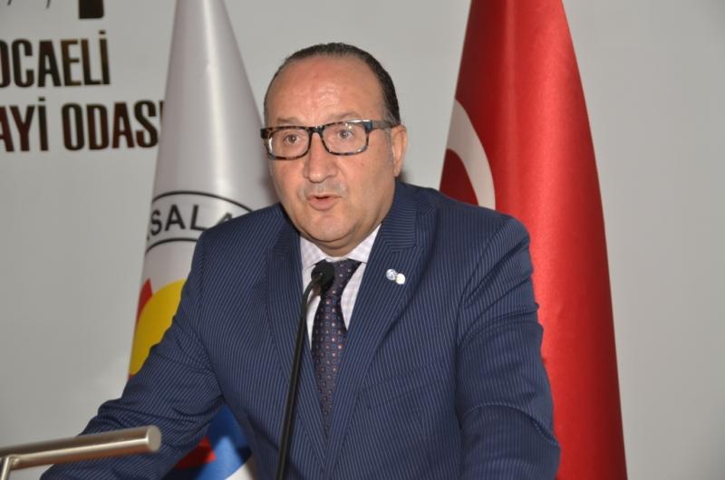 Kocaeli Sanayi Odası Başkanı Ayhan Zeytinoğlu.