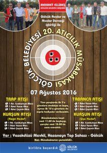 atıcılık yarışması afiş