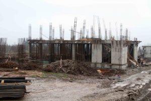 Arslanbey'de kültür merkezi inşaatı (1)