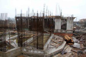 Arslanbey'de kültür merkezi inşaatı (2)
