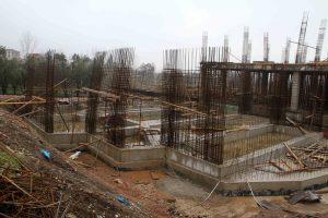 Arslanbey'de kültür merkezi inşaatı (3)