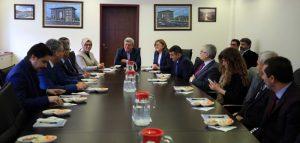 Gaziantep Büyükşehir Belediye Başkanı Fatma Şahin ziyaret (1)