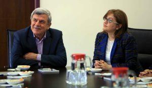 Gaziantep Büyükşehir Belediye Başkanı Fatma Şahin ziyaret (2)