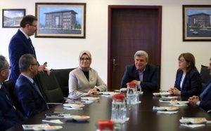 Gaziantep Büyükşehir Belediye Başkanı Fatma Şahin ziyaret (3)
