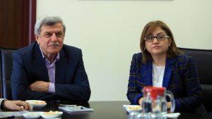 Gaziantep Büyükşehir Belediye Başkanı Fatma Şahin ziyaret (4)